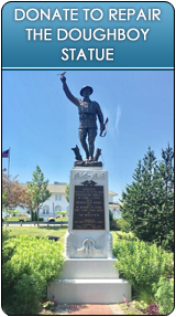 Donate to Doughboy Statue Repair